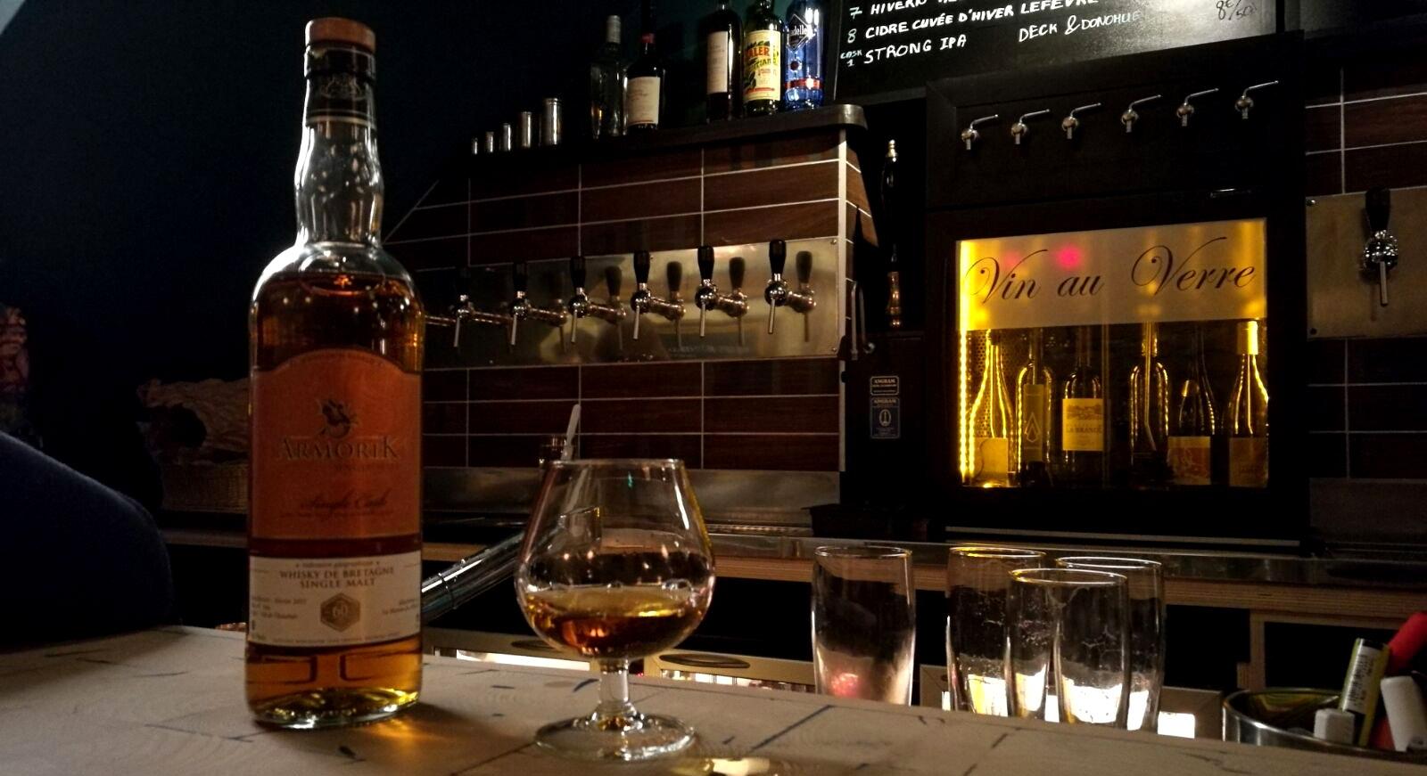 Armorik fût de Chouchen, brut de fût, Warenghem, Lannion, Bretagne, orge maltée, whisky Français, French whisky.