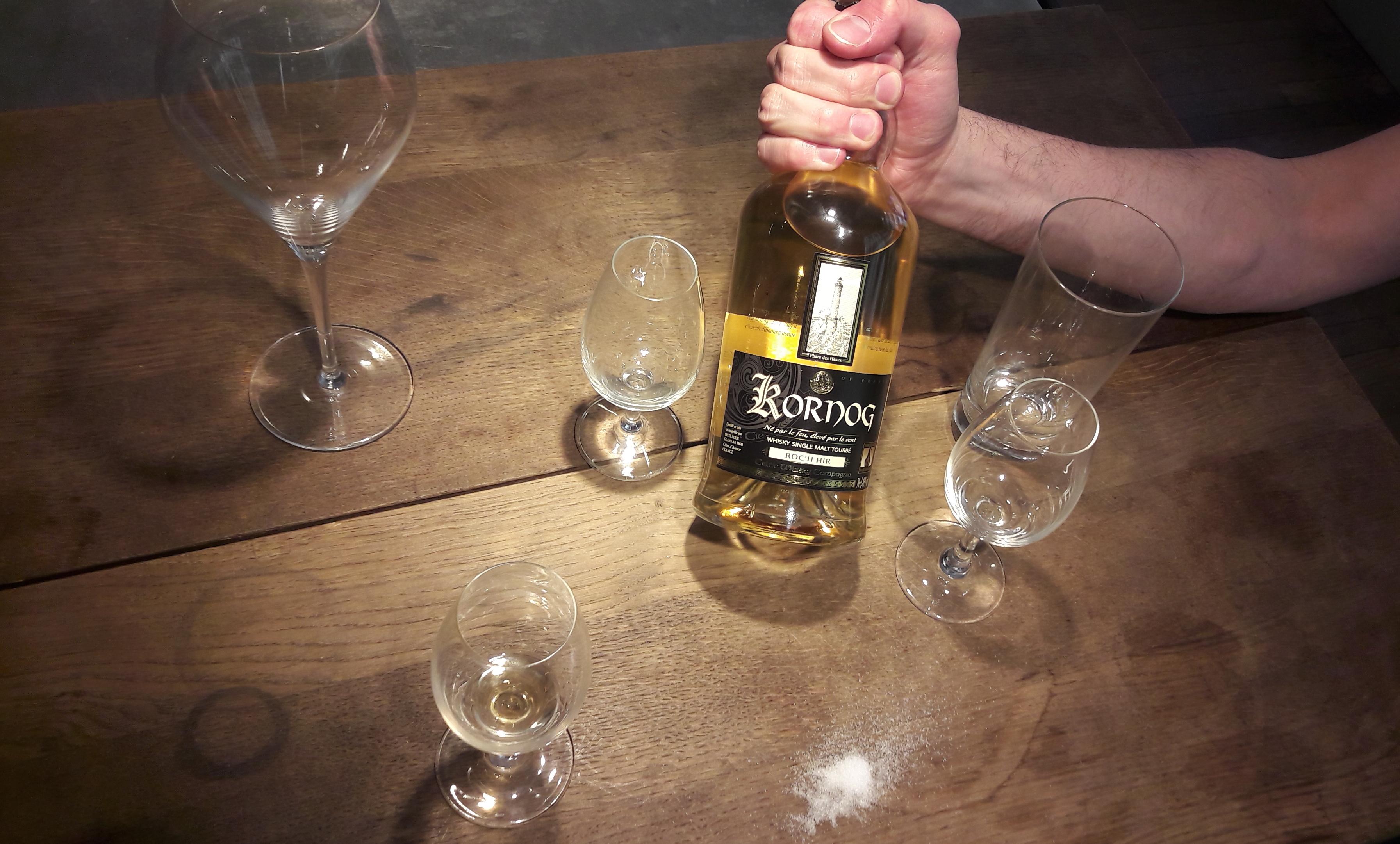 Whisky Français, Single Cask, Single Malt, Glann Ar Mor, Kornog, Roc'h Hir, Sant Ivy, Saint Erwan, Maris Otter Barley, tourbe, iode