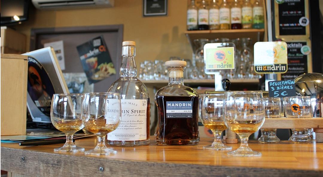 Mandrin, L'Esprit de Mandrin, Brasserie du Dauphiné, Saint-Martin-d'Hères, Isère, Vincent Gachet, Rivesaltes, whisky français, France, French whisky