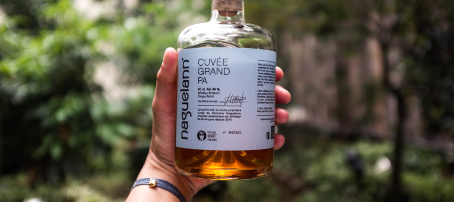 Naguelann, Cuvée Grand'PA, Cuvée Grand PA, whisky Breton, bretagne, fût de bourbou, fût de cidre, quarter cask, bourbon barrel, single malt , whisky , whisky Français, whiskey, barley, orge malté, dégustation , Paris , master class, Xavier Brevet, Matthieu Acar, Sekkal Lilya.