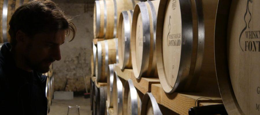 Distillerie de Fontagard, France, Neuillac, Granchère, Adrien Granchère, alambic, charentais, chai, cognac, whisky Français, dégustation , Paris, Matthieu Acar, Lilya Sekkal, Xavier Brevet, Matthieu Acar