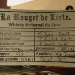 Rouget de Lisle Whisky Artisanal du Jura, Vin Jaune, brasserie, distillerie, Bruno Mangin, Pur malt whisky, Bourbon, Rye, orge, maïs, seigle, Holstein, Armagnacais, Bletterans, Bresse, Jura, France, whisky Français, French whisky Matthieu Acar, Xavier Brevet, Lilya Sekkal, dégustation, whisky, académie, masterclass, Paris, atelier, dégustation, whisky
